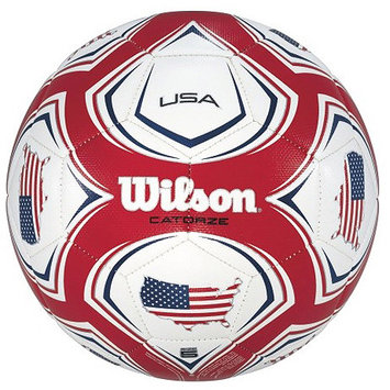 Wilson Sports Wilson Catorze World Cup 2014 USA Soccer Ball