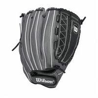 Wilson WTA12RF151275 12.75 Onyx Series Fastpitch Softball Glove Black / Coal