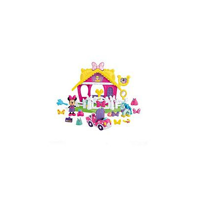 Fisher Price Fisher-Price Disney Minnie Mouse Deluxe Pony Show Stable