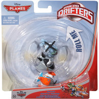Mattel Disney Planes Micro Drifters Bravo, Hector Vector & Supercharged Dusty Crophoppe