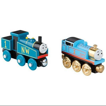 Thomas & Friends - 70th Anniversary Wood Engine 2 Pack by Thomas & Friends Wooden Railway