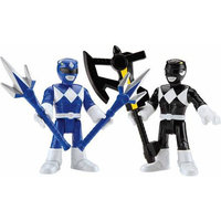 Rgc Redmond Imaginext Power Rangers - Blue and Black Rangers