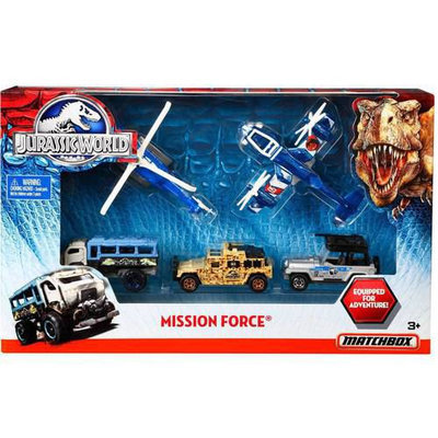 Mattel Matchbox Jurassic World Mission Force