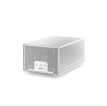 AKiTiO Neutrino Thunder D3 512GB (2x 256GB SSD) Enclosure, Up to 10Gbps Thunderbolt/5Gbps USB 3.0 Data Transfer