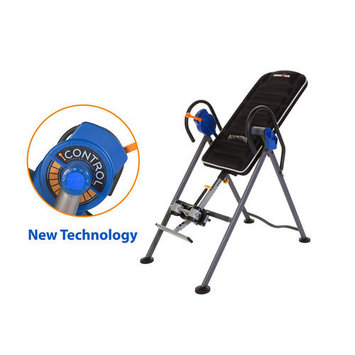 Paradigm Health & Wellness IRONMAN iCONTROL 500 Disk Brake System Inversion Table with Air Tech Backrest