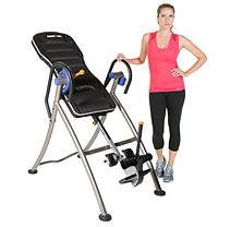 Paradigm Health & Wellness IRONMAN iCONTROL 600 Weight Extended Disk Brake System Inversion Table with Air Tech Backrest