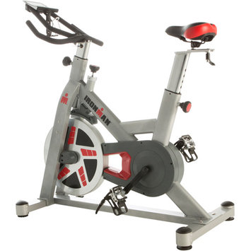 Paradigm Health And Wellness Inc IRONMAN H-Class 520 Magnetic Tension Indoor Cycle Trainer with Bonus Equipment Mat