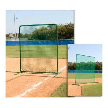 Athleticconnection Varsity Infield Protective Screen w Pillow Case Style Net