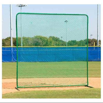 Athleticconnection Varsity Fungo Protective Screen w Round Green Steel Frame