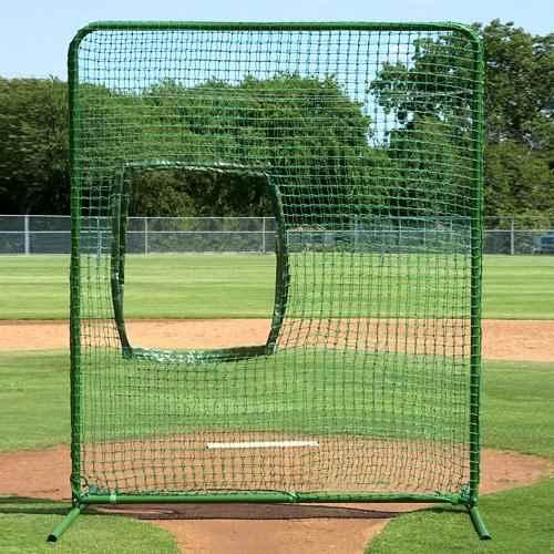 Athleticconnection Varsity Softball Protector Screen for Pitcher and Pitching Machine Use