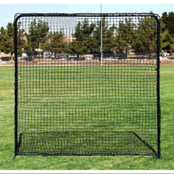 Fallline Corporation Portable Square Practice Net w Tubular Steel Frame