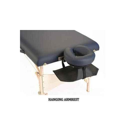 Earthlite Hanging Arm Sling in Black for Massage Table Headrests
