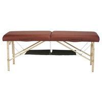 Earthlite Black Hammock-Style Storage Shelf for Massage Tables