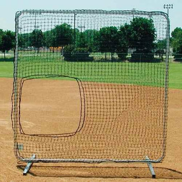 Athleticconnection Softball Pitching Trainer - Collegiate Protector w Cutout