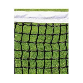 Putterman Athletics Tournament Tennis Net in Black and White