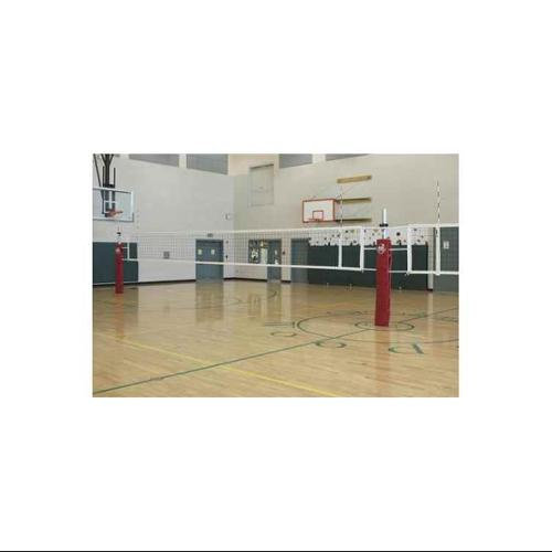 Gared Sports RallyLine Scholastic 3Court Volleyball System (With Sleeves and Covers)