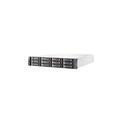 Hewlett Packard Hp 1040 San Array - 6GB/s Sas Controller - 12 X Total Bays - Gigabit Ethernet - Iscsi - 2u Rack-mountable (e7w01sb)