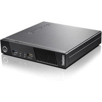 Lenovo ThinkCentre M73 10AY003HUS Desktop Computer - Intel Core i3 i3-4130T 2.90 GHz - Tiny - Business Black