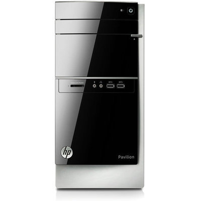 Hewlett Packard HP Pavilion 500-300 500-336 Desktop Computer - Refurbished - Intel Core i3 i3-4130 3.40 GHz - Mini-tower - 4GB RAM - 1TB HDD - DVD-Writer - Intel HD Graphics 4400 - Windows 8.1 64-bit - Wireless LAN