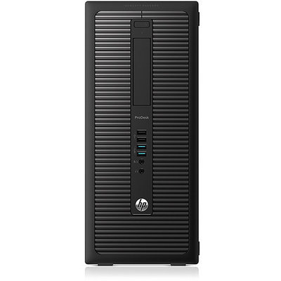 Hewlett Packard Hp Business Desktop Prodesk 600 G1 Desktop Computer - Intel Core I5 I5-4690 3.50 Ghz - Micro Tower - 4GB RAM - 500GB Hdd - Dvd-reader - Intel Hd Graphics 4600 - Windows 7 Professional (k1k46ut-aba)