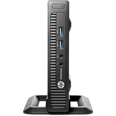 Hewlett Packard Hp Elitedesk 800 G1 Desktop Computer - Intel Core I3 I3-4160t 3.10 Ghz - Mini Pc - 4GB RAM - 500GB Hdd - Intel Hd Graphics 4400 - Windows 7 Professional 64-bit (k1k71ut-aba)