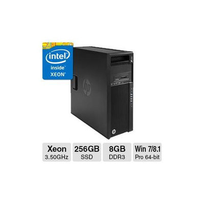 Hewlett Packard Z440 WS X 3 5 8GB 256GB W7P 64 W8 1P SBY HEC0SYKF9-1611