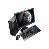 Lenovo Thinkcentre M73 10b6001sus Desktop Computer - Intel Core I5 I5-4590 3.30 Ghz - Small Form Factor - Business Black - 4GB RAM - 500GB Hdd - Dvd-writer - Intel Hd Graphics 4600 - Windows 7