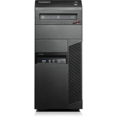 Lenovo Thinkcentre M83 10al0010us Desktop Computer - Intel Core I5 I5-4590 3.30 Ghz - Mini-tower - Business Black - 8GB RAM - 256GB Ssd - Dvd-writer - Intel Hd Graphics 4600 - Windows 7 Professional