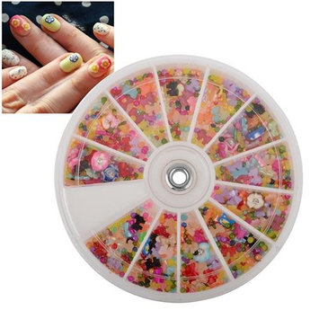 Eforcity INSTEN Mixed Classy Nail Art Idea Design DIY Slice Decoration Manicure (Pack of 1200)