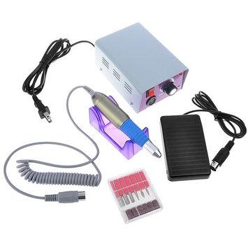 Eforcity Insten 11-piece Electric Nail Art Idea Design Decoration Drill Machine Tool Kit Set