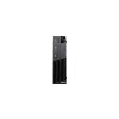 Lenovo Thinkcentre M83 10am000wus Desktop Computer - Intel Core I3 I3-4150 3.50 Ghz - Small Form Factor - Business Black - 4GB RAM - 500GB Hdd - Dvd-writer - Intel Hd Graphics 4400 - Windows 7