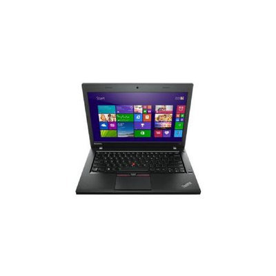Lenovo Thinkpad L450 20dt001dus 14 Notebook - Intel Core I5 I5-4300u Dual-core [2 Core] 1.90 Ghz - 8GB RAM - Ddr3l Sdram - 256GB Ssd - Intel Hd Graphics 4400 Ddr3l Sdram - Windows 7 Professional