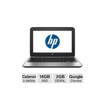 Hewlett Packard Hp Chromebook 11 G3 11.6 Led Notebook - Intel Celeron N2840 2.16 Ghz - 2GB RAM - 16GB Ssd - Intel Hd Graphics - Chrome Os - 1366 X 768 Display - Bluetooth (l6v35aa-aba)