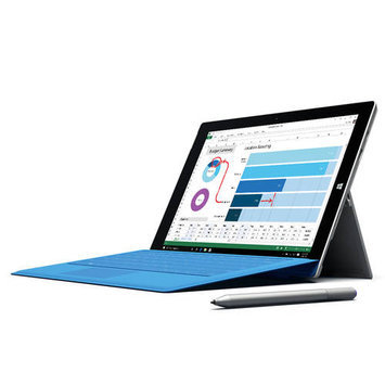 Microsoft Corp. Microsoft(R) Surface Pro 3 Tablet With 12in. Full HD Plus Display 4th Gen Intel(R) Core(TM) i7 Processor, Windows 10, Silver