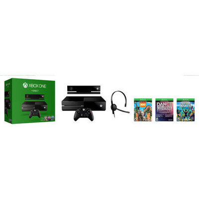 Microsoft Corp. Microsoft - Xbox One With Kinect Bundle - Black