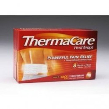 ThermaCare Air-Activated Heatwraps, Back, Large To Extra Large