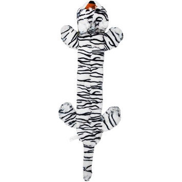 Pet Qwerks Super Squeakers-White Tiger