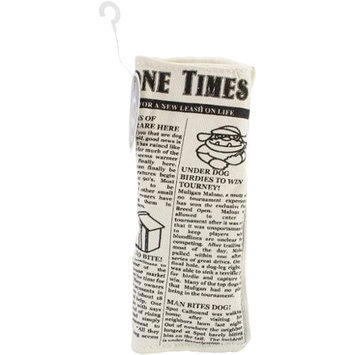Pet Qwerks Mini Krinkle & Squeak Newspaper