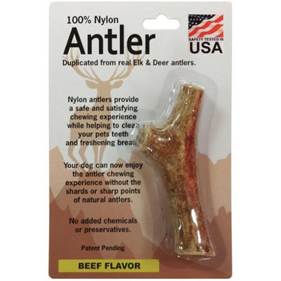 Pet Qwerks Medium Antler-Beef