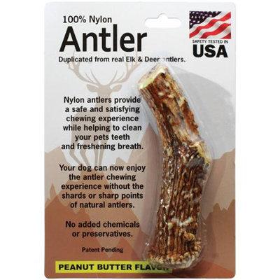 Pet Qwerks Large Antler-Peanut Butter