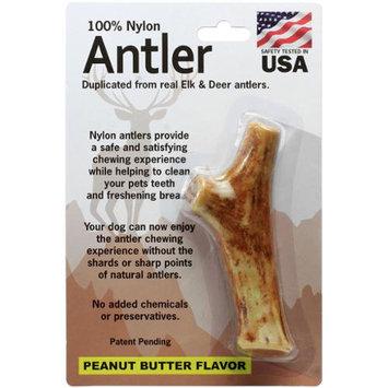 Pet Qwerks Medium Antler-Peanut Butter