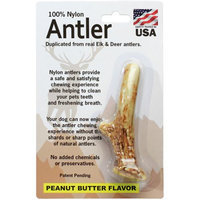 Pet Qwerks Small Antler-Peanut Butter