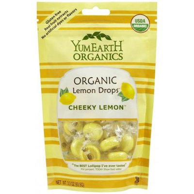 Yummy Earth 28729 Organic Cheeky Lemon Drops