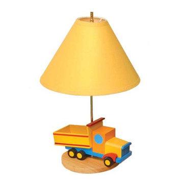 Room Magic Boys Like Trucks Lamp