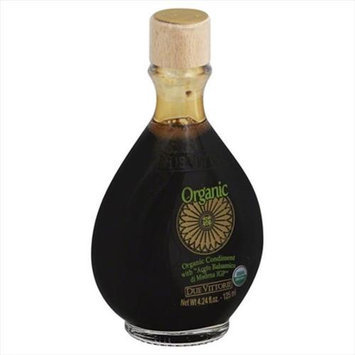 Due Vittorie 4.24 oz. Organic Balsamic Vinegar - Case Of 9