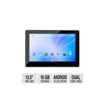 AZPEN 13.3 Android 4.2 Jelly Bean Tablet Bundle
