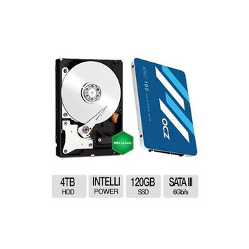Ocz Technology OCZ Arc 100 120GB SSD w/ WD Green 3TB Bundle