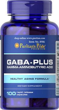 Puritan's Pride 2 Units of GABA (Gamma Aminobutyric Acid) Complex-100-Capsules