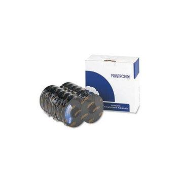 Printronix PRT107675008 107675008 Black Barcode Ribbon, 6 Per Box