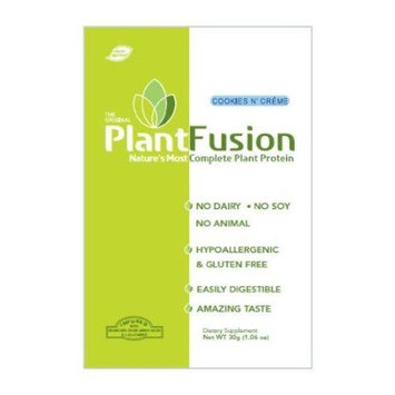 Plantfusion Cookies N Cream Packets Case of 12 30 Grams